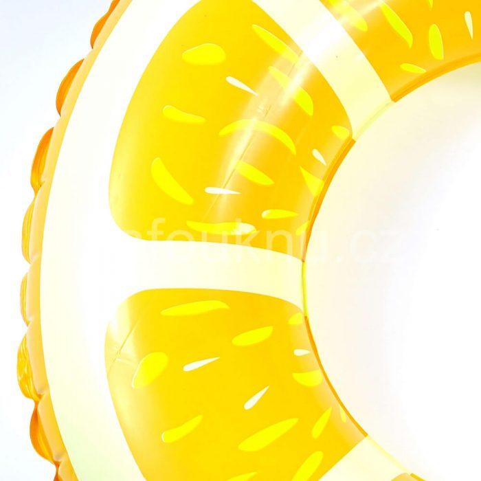 Nafukovací kruh do vody Citron