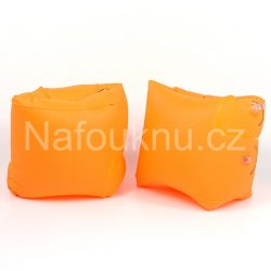 Oranžové nafukovací rukávky do vody